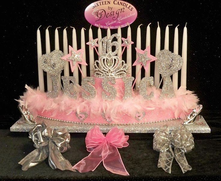 Sweet 16 Candelabra Candle Holder Lighting Ceremony Princesses & Best 25+ Sweet 16 candles ideas on Pinterest | Mascarade party ... azcodes.com