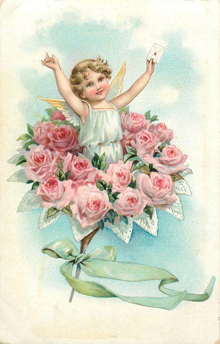 чем поздравительные открытки с днем ангела старинные всех