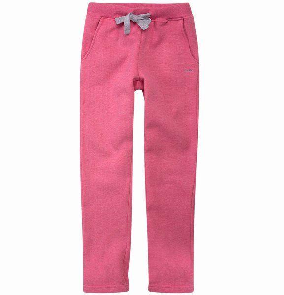 Ocieplane spodnie dresowe dla dziewczynki