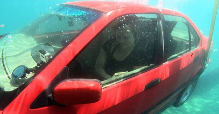 Τι κάνουμε αν το όχημα μας βυθιστεί στο νερό; | Τι λες τώρα;
