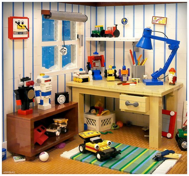 kids room from the 80s - Boys Room Lego Ideas