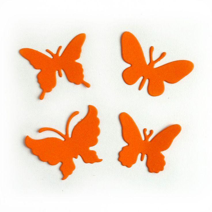 Butterfly #19 (Set of 4) - CABTRF-19 - Cheery Lynn Designs