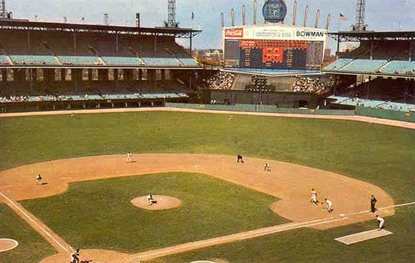 Comiskey Park Former Home Of The Chicago White Sox