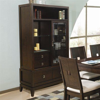 Spiga Buffet Hutch China Cabinet By Najarian At Wilcox Furniture
