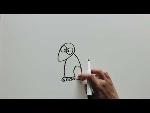DIY Learn How to Draw a Happy Mouse by Kids Wow Collector