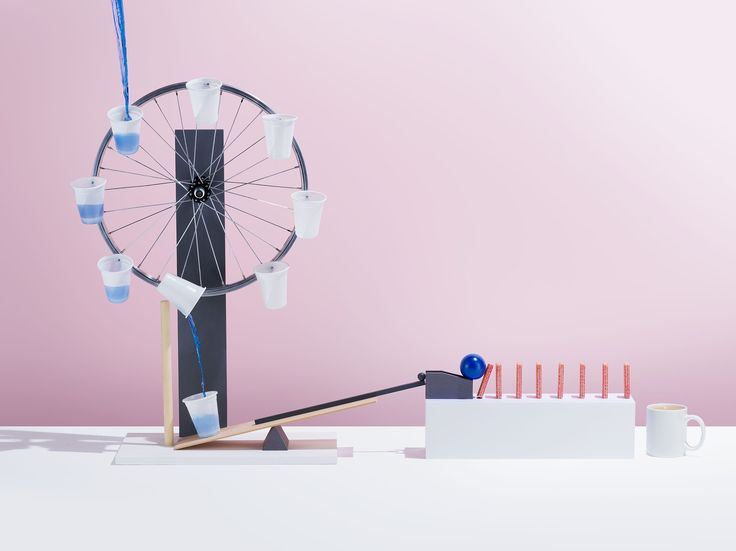 Complex Simplicity photographed by Jonathan Knowles  #photography #complexsimplicity #stilllife #rubegoldberg #machine #modern #minimal #tea #food