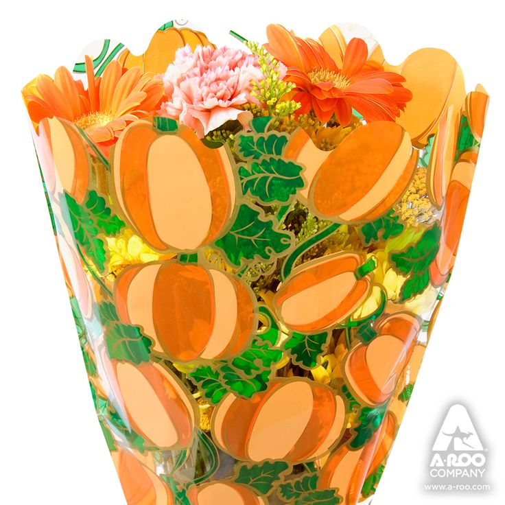Enter the pumpkin patch filled with round orange gourds and their curvaceous emerald vines. Tiffany