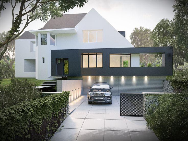 Rénovation d'une maison unifamiliale. Architecte: Openarchitectes. Image: www.perspectif.be