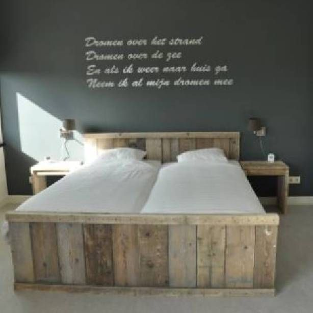 keuken steigerhout planken hoogglans wit   Google zoeken   Woonidee u00ebn   Pinterest   Beds and Photos