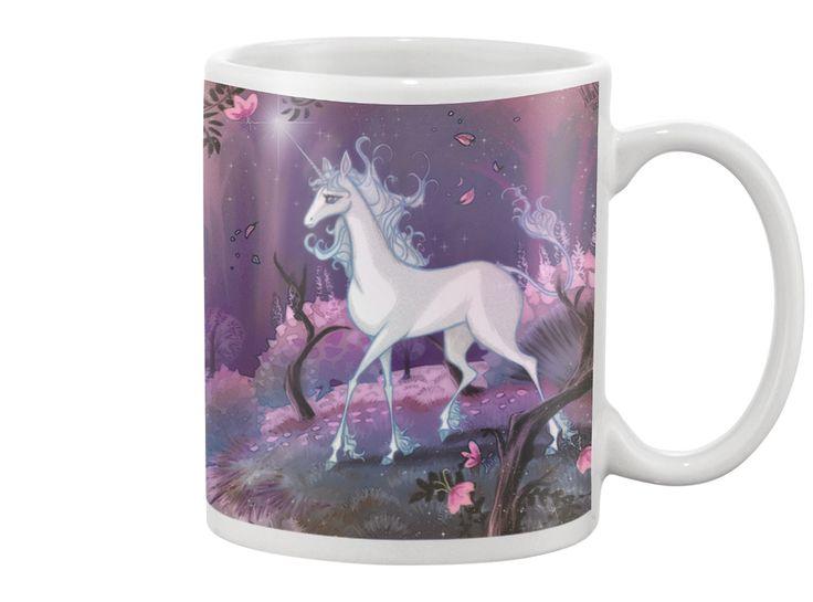 The Last Unicorn mug! Ah! <3