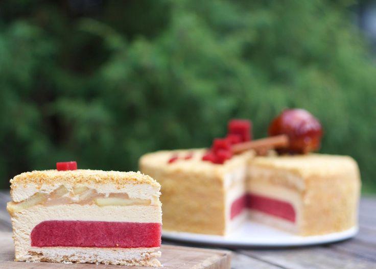 Муссовый торт «Карамельное яблоко» | HomeBaked