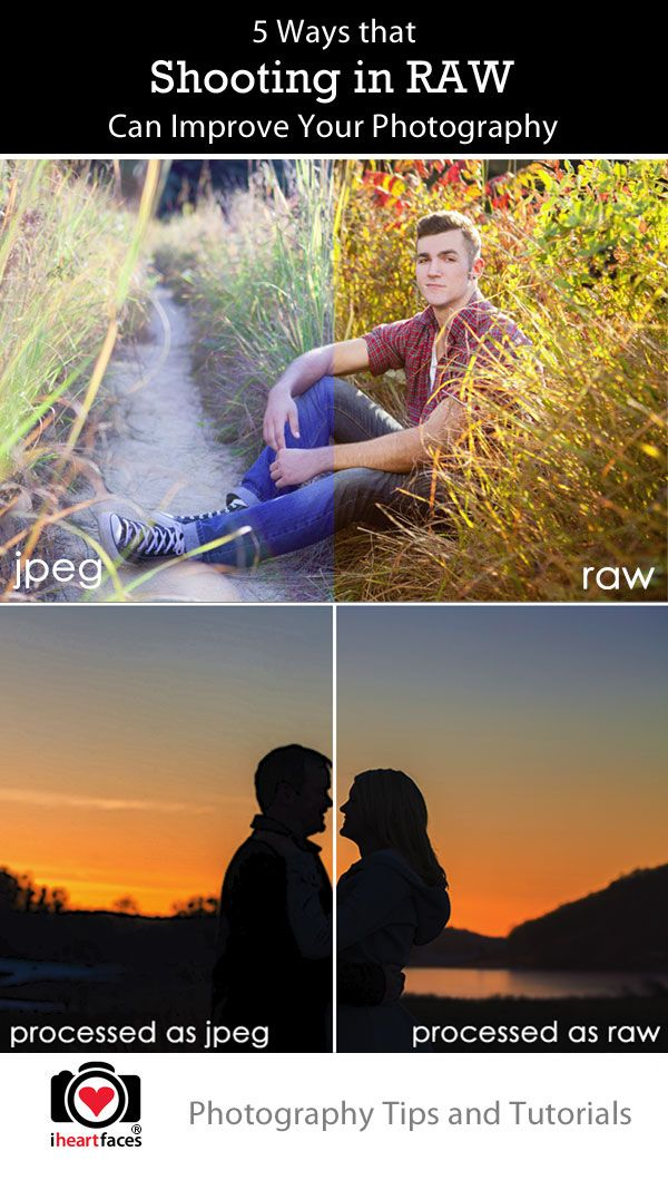 5 Ways Shooting in RAW Can Improve Your Photos | Tutorial by Amandalynn Jones Photography for iHeartFaces.com