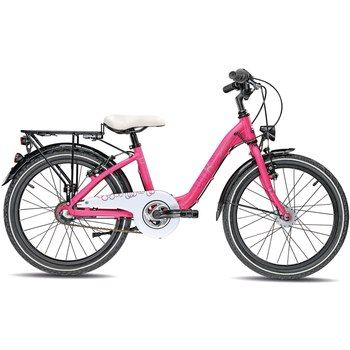 S'cool CHIX COMP 20 3-S Kinderfahrrad 2016 - dunkelpink matt - Bike24