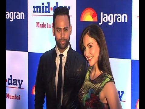 Elli Avram and VJ Andy @ Mid-day relaunch Party.
