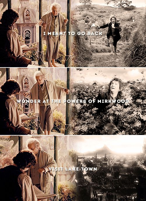 my heart..... - it's really amazing how the Hobbit and Lord of the Rings movies add meaning to each other.