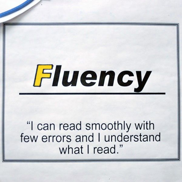 "INSTRUCTION: Teaching students different strategies as part of the Fluency component of ""CAFE"" helps them to break down and identify what fluency is, and what steps and strategies they can use to read more efficiently. This is an excellent activity as it is generally posted somewhere on the classroom so that students can refer back to the strategies and use them throughout the year."
