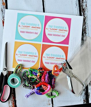 valentine's day loom band bundle