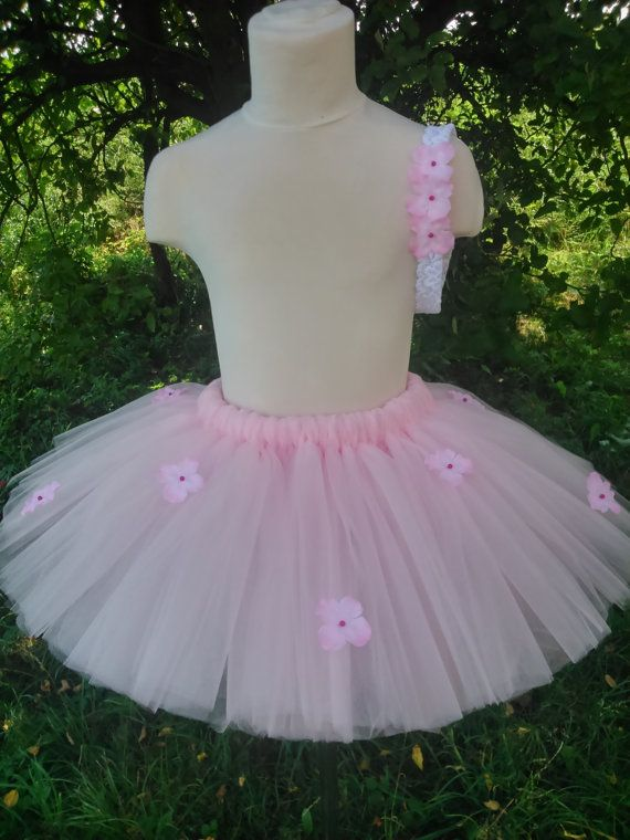 Flower girl tutu - pink tutu – baby tutu – girl tutu – birthday tutu – party tutu – tutu skirt – fluffy tutu – tutu skirt
