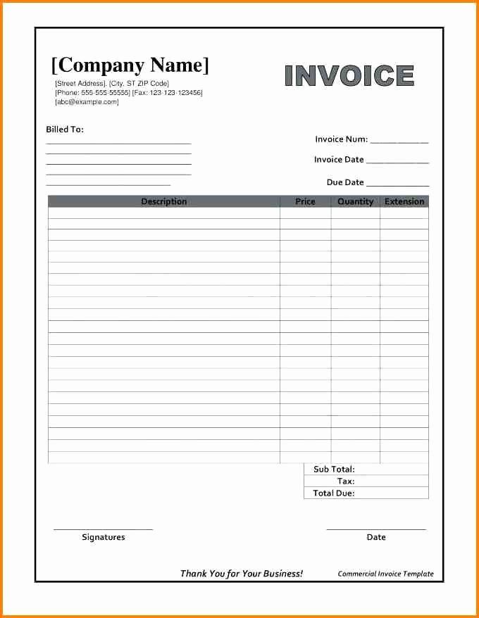 Free Service Invoice Sample Template Free Receipt Template Pdf And Why You Invoice Template Word Photography Invoice Template Microsoft Word Invoice Template