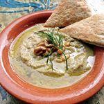 タベラ - 料理写真: ババガヌーシュ~焼きナスとオクラのペースト~(エジプト)¥580 エジプトの代表的な家庭料理。ピタパンにぴったりな一品。