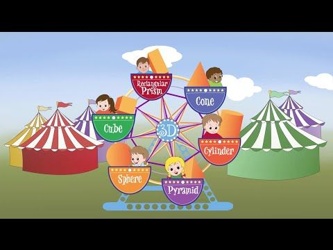 It's a 3D World! (A song about solid shapes) - YouTube