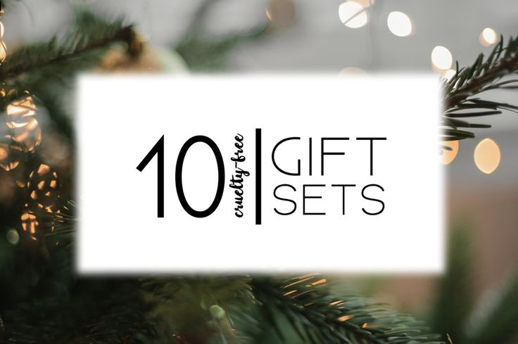 Need some cruelty-free and vegan gift ideas? Check out this list of 10 great ideas!