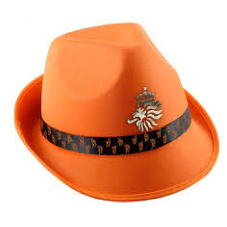 De officiële Oranje hoed van het WK 2018.