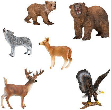 Schleich World of Nature North American Animals Series 2 ...