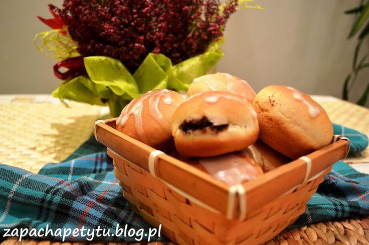 Okrągłe bułeczki z masą makową #polishfood #foodblog #polishgirl #sweet