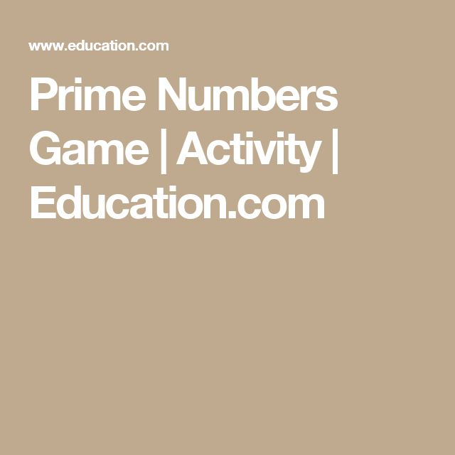 The 25+ best Prime numbers ideas on Pinterest What is composite - prime number chart