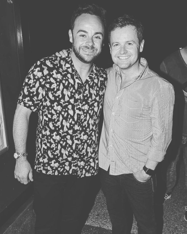 """23 Likes, 3 Comments - Ant & Dec ❤️ (@antyanddecky) on Instagram: """"#OTP !!! #antanddec #declandonnelly #decdonnelly #antmcpartlin #anthonymcpartlin #partyboys…"""""""