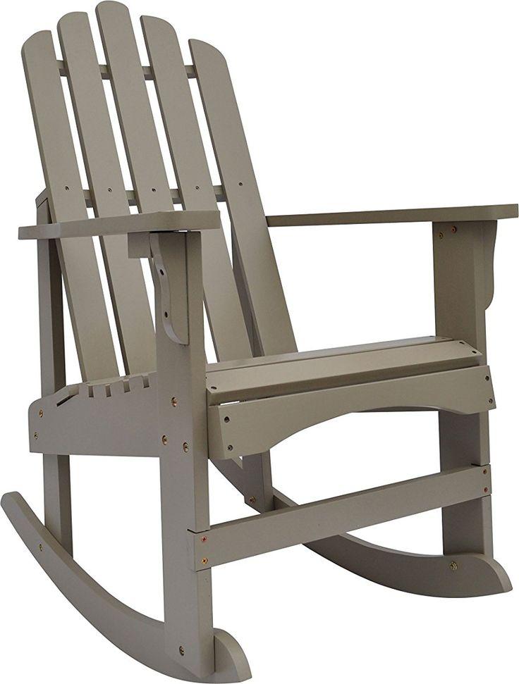 18 Best Adirondack Rocking Chair Images On Pinterest