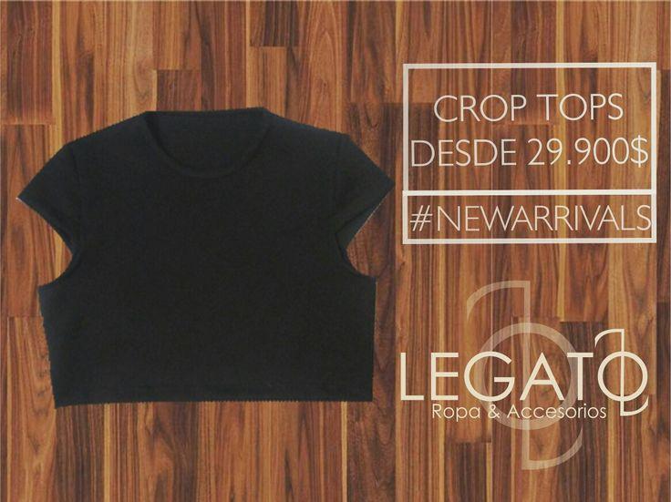 Crop tops desde 29.900$!!! Disponibles ya en nuestra tienda online!!  #croptop #womanstyle #hechoencolombia #legato #clothing