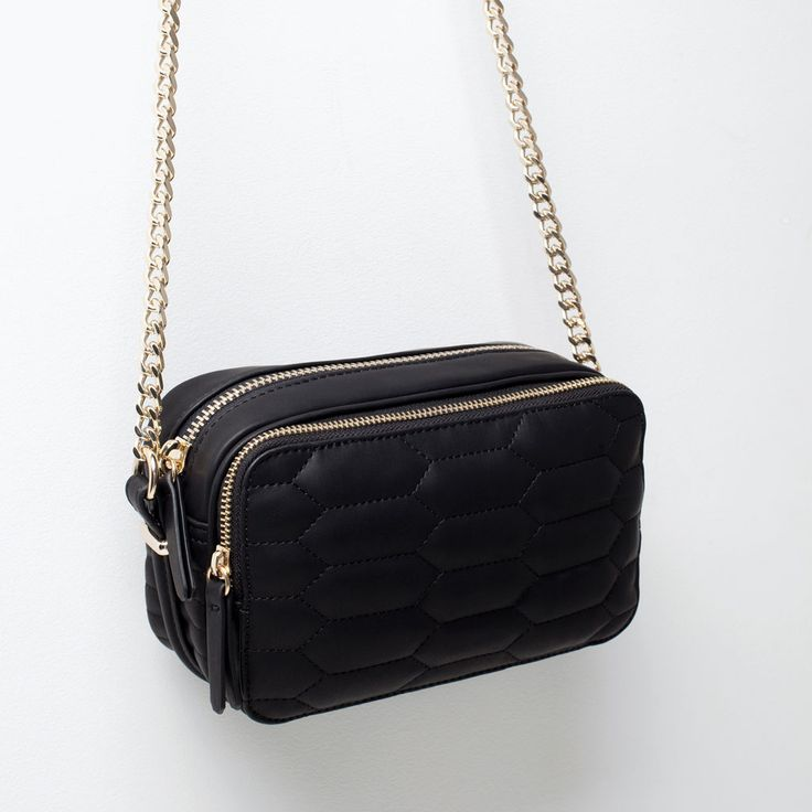 ZARA - SHOES & BAGS - QUILTED MESSENGER BAG