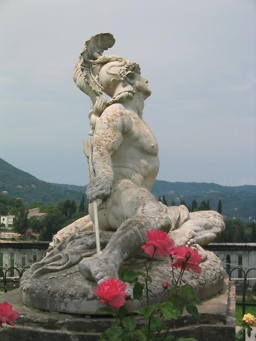 achillies statue \@ Thessaloniki Greece