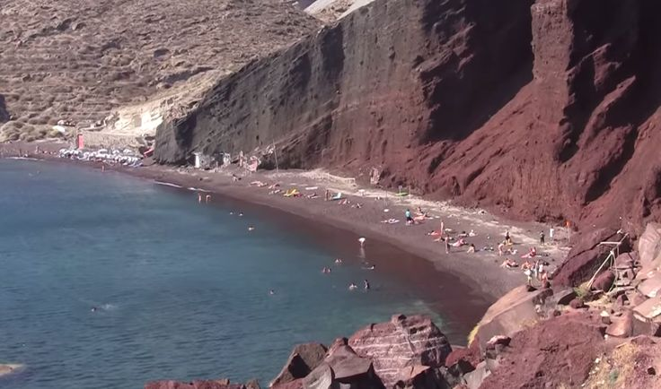 Red Beach - Santorini