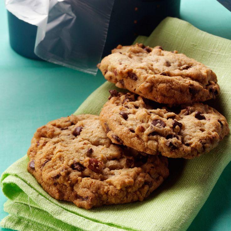 Découvrez la recette des cookies aux pépites de chocolat et noix de pécan