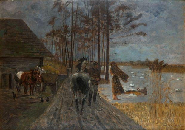 Jacek Malczewski - Polonia, 1900.