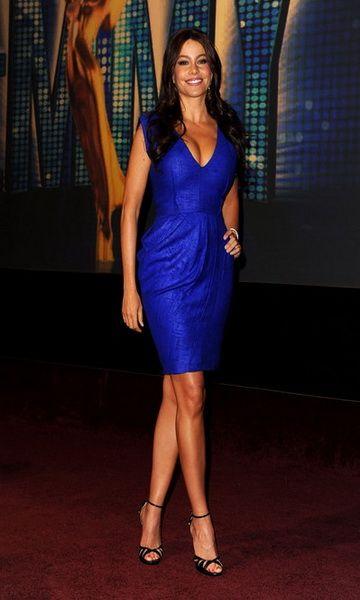 robe de cocktail 2014 robe de cocktail en bleu 2014 - Robe Bleu Electrique Mariage