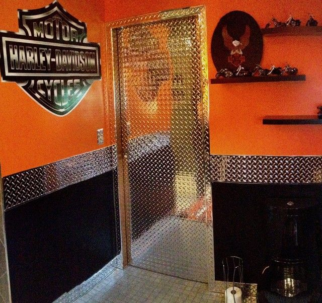 17 Manly Home Decorating Tips For Guys Who Are Clueless: 17 Best Images About Harley Davidson Garage On Pinterest