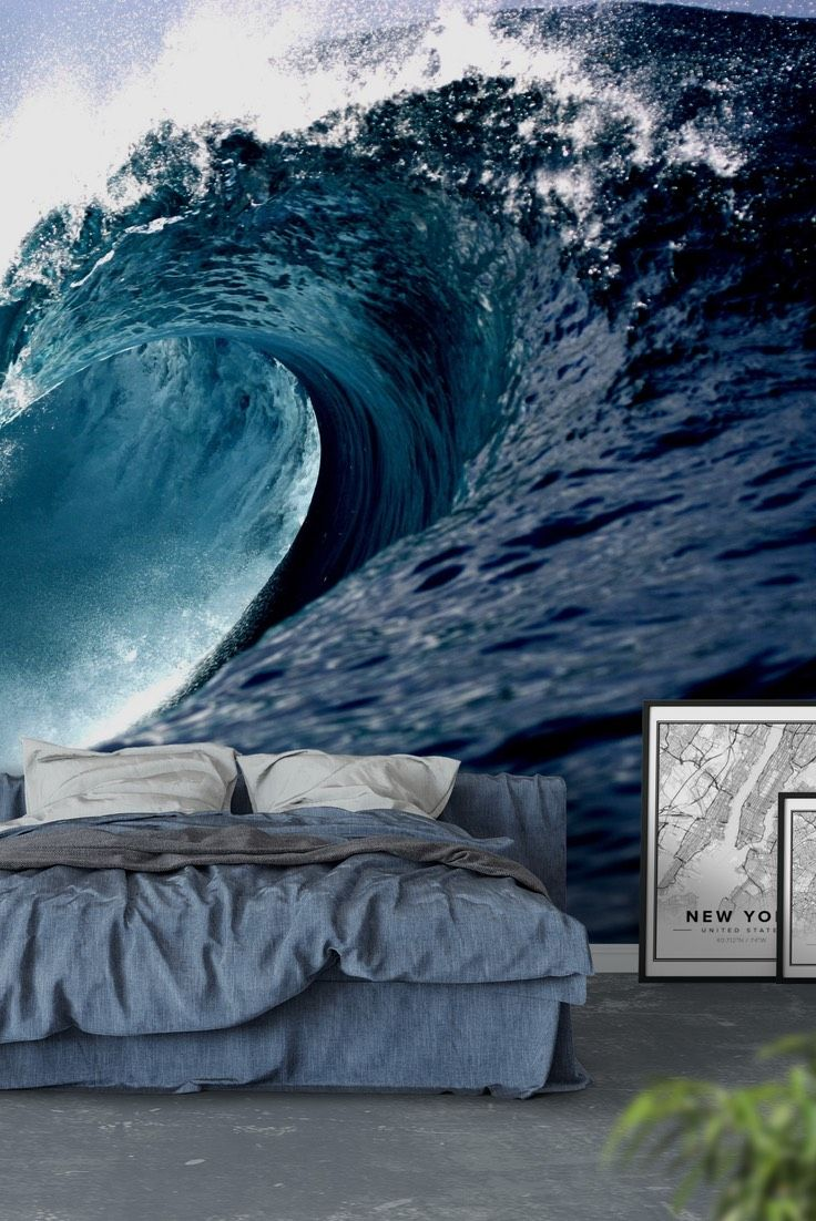 34 best water wall murals images on pinterest photo wallpaper wave wall mural wallpaper amipublicfo Choice Image