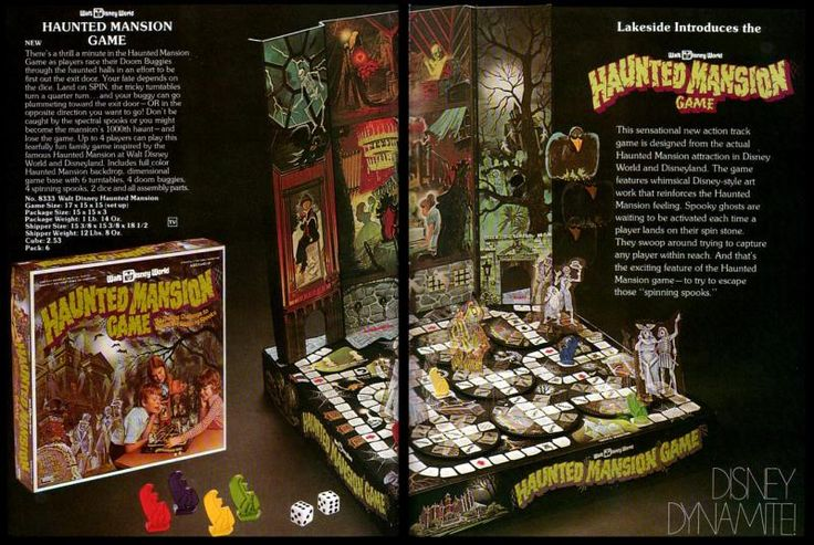 Vintage Scares: Disney's Haunted Mansion Board Game | News Article | FEARnet