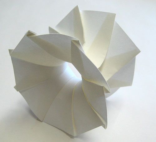 Origami, the traditional Japanese art of paper folding, dates back to the