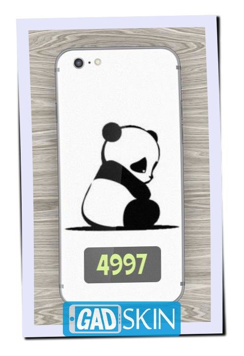 http://ift.tt/2dlK1LF - Gambar Sad panda ini dapat digunakan untuk garskin semua tipe hape yang ada di daftar pola gadskin.