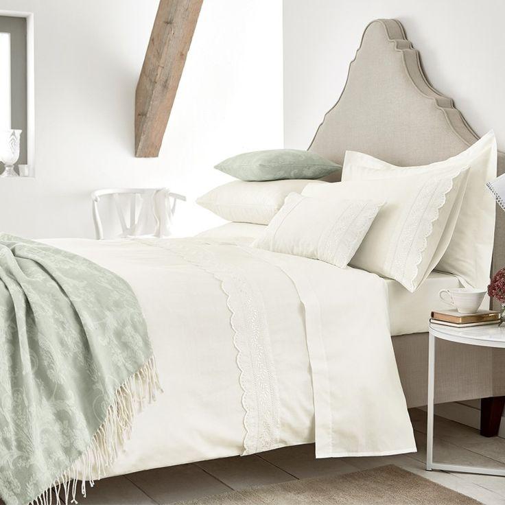 Champagne Bed Linen Decorative Lace Bedding Sets At Bedeck Home