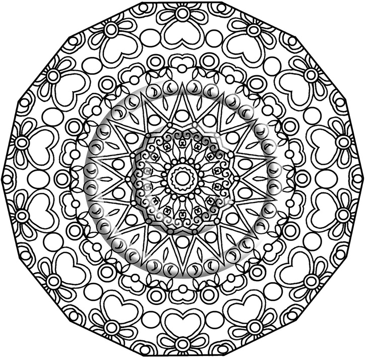 Coloring Pages Thick Lines Advanced