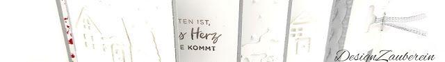DesignZauberein: Weihnachtliche Wasserfallkarte Dieses Mal ist e...
