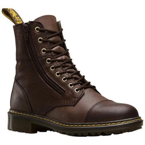 Men's Dr. Martens Denton ST Rigger Boot Dark Vancouver Synthetic/Low Down