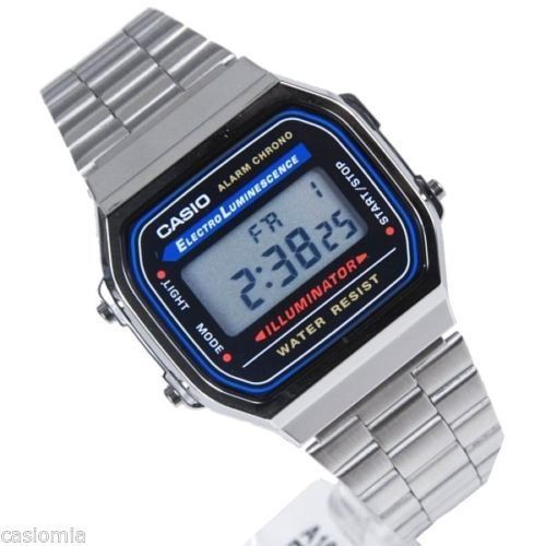 Item specifics     Condition:        New with tags: A brand-new, unused, unopened, undamaged item in its original packaging (where packaging is    ... - #Watches https://lastreviews.net/fashion/mens/watches/casio-a168wa-1a-mens-digital-watch-illuminator-daily-alarm-stopwatch-calendar/