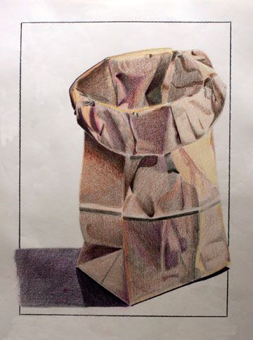Paper Bag Drawing